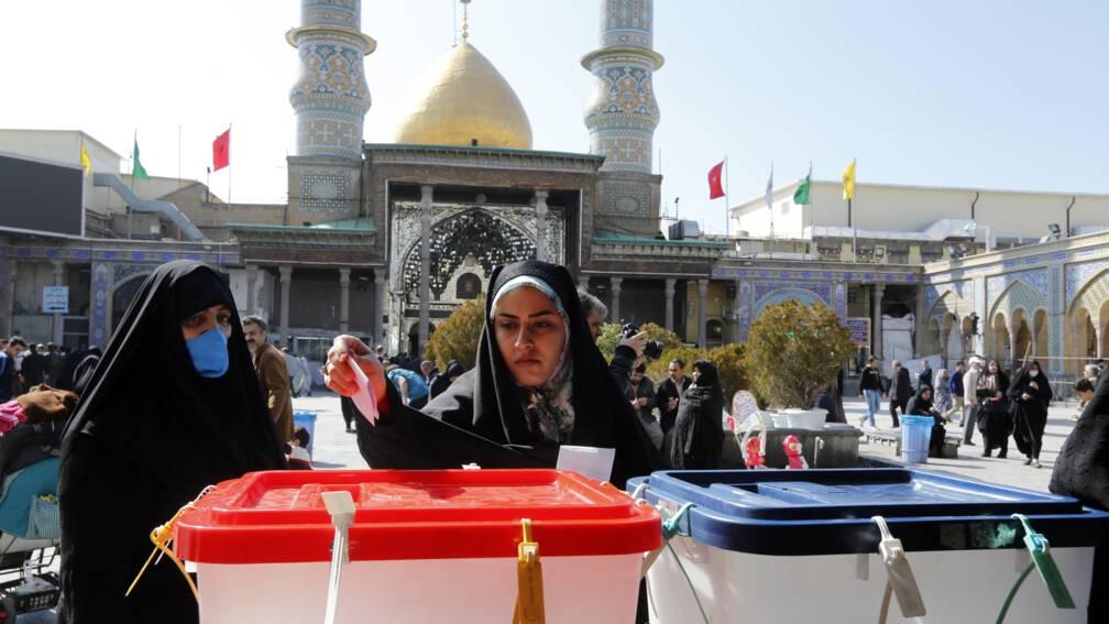 Bekijk details van Historisch lage opkomst bij Iraanse verkiezingen, in Teheran 25 procent