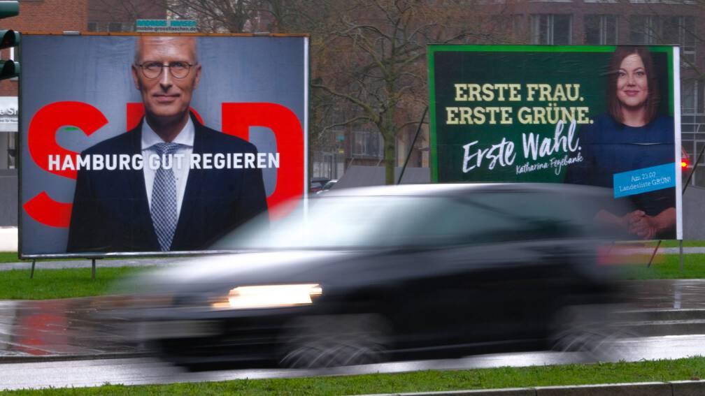 Bekijk details van SPD blijft grootste in Hamburg, Groenen grote winnaar