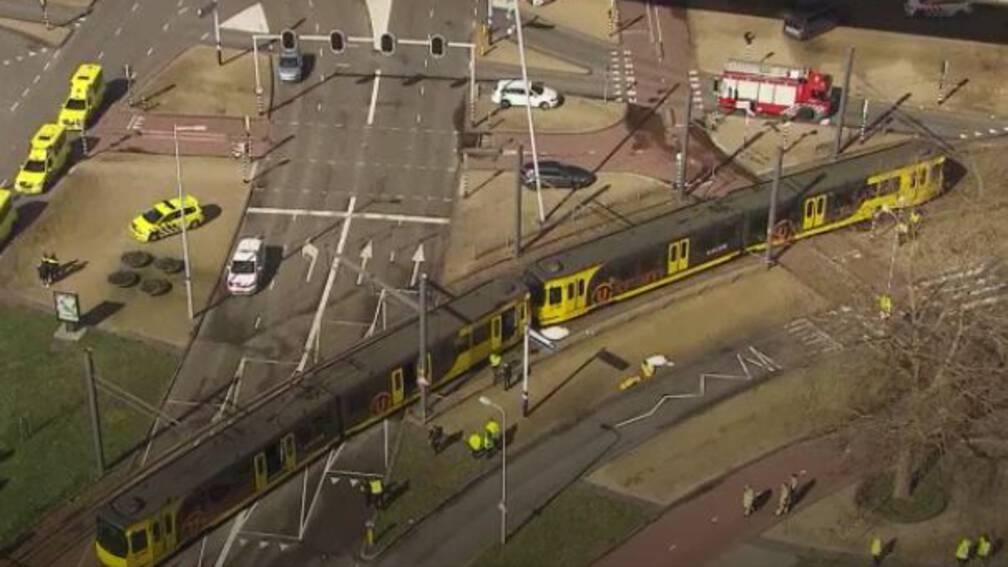 Bekijk details van Slachtoffer tramaanslag Utrecht mag niet alle camerabeelden uit tram zien