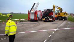 Twee doden bij auto-ongeluk in Friese Burdaard.