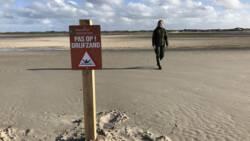 Waarschuwing voor drijfzand op Texel na ongelukken met wandelaars.