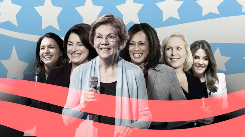 Waarom vrouwen het niet redden in de Amerikaanse voorverkiezingen