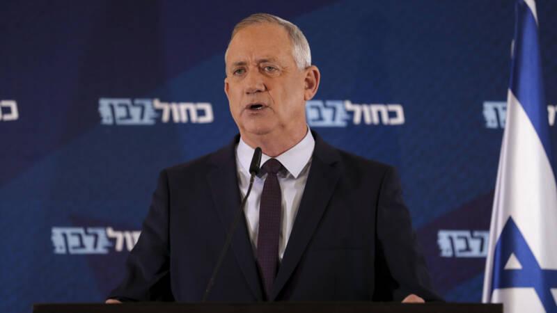 Rivalen Gantz en Netanyahu gaan om de tafel in Israël