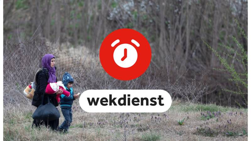 Wekdienst 17/3: overleg vluchtelingen Turkse grens en boom van het jaar