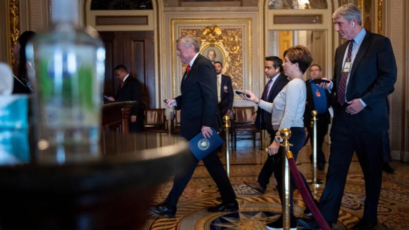 Senaat en Witte Huis zijn het eens: 2 biljoen om coronacrisis aan te pakken