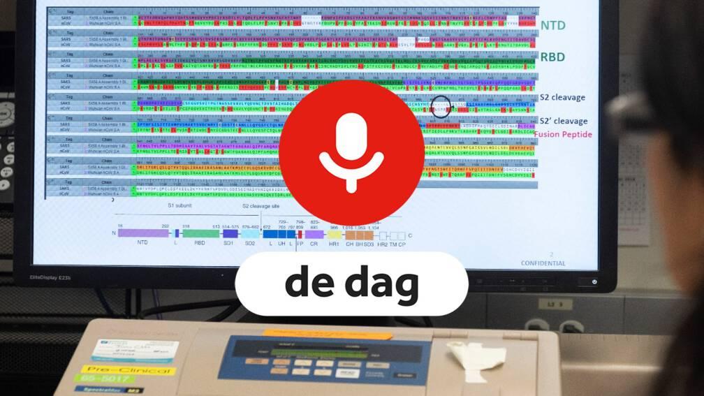 Bekijk details van Podcast De Dag: 'Farmaceutische concerns moeten corona-kennis vrijgeven'