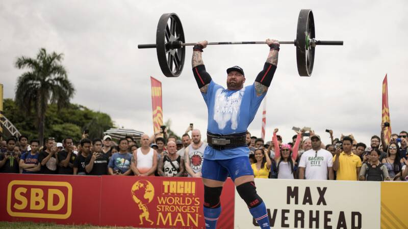 Game of Thrones-acteur tilt 501 kilo en breekt wereldrecord deadliften