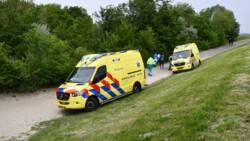Kitesurfer verongelukt op strand Kamperland in Zeeland.