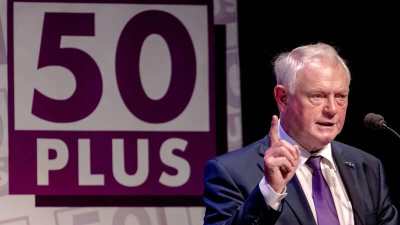 Oprichter Jan Nagel (80) wil voorzitter worden van 50Plus