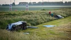 Twee doden en acht gewonden bij ongeluk in Middenmeer.