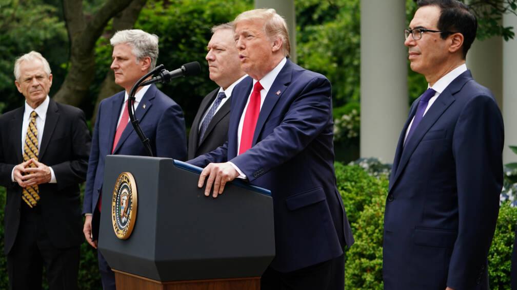 Bekijk details van Trump verbreekt banden met Wereldgezondheidsorganisatie