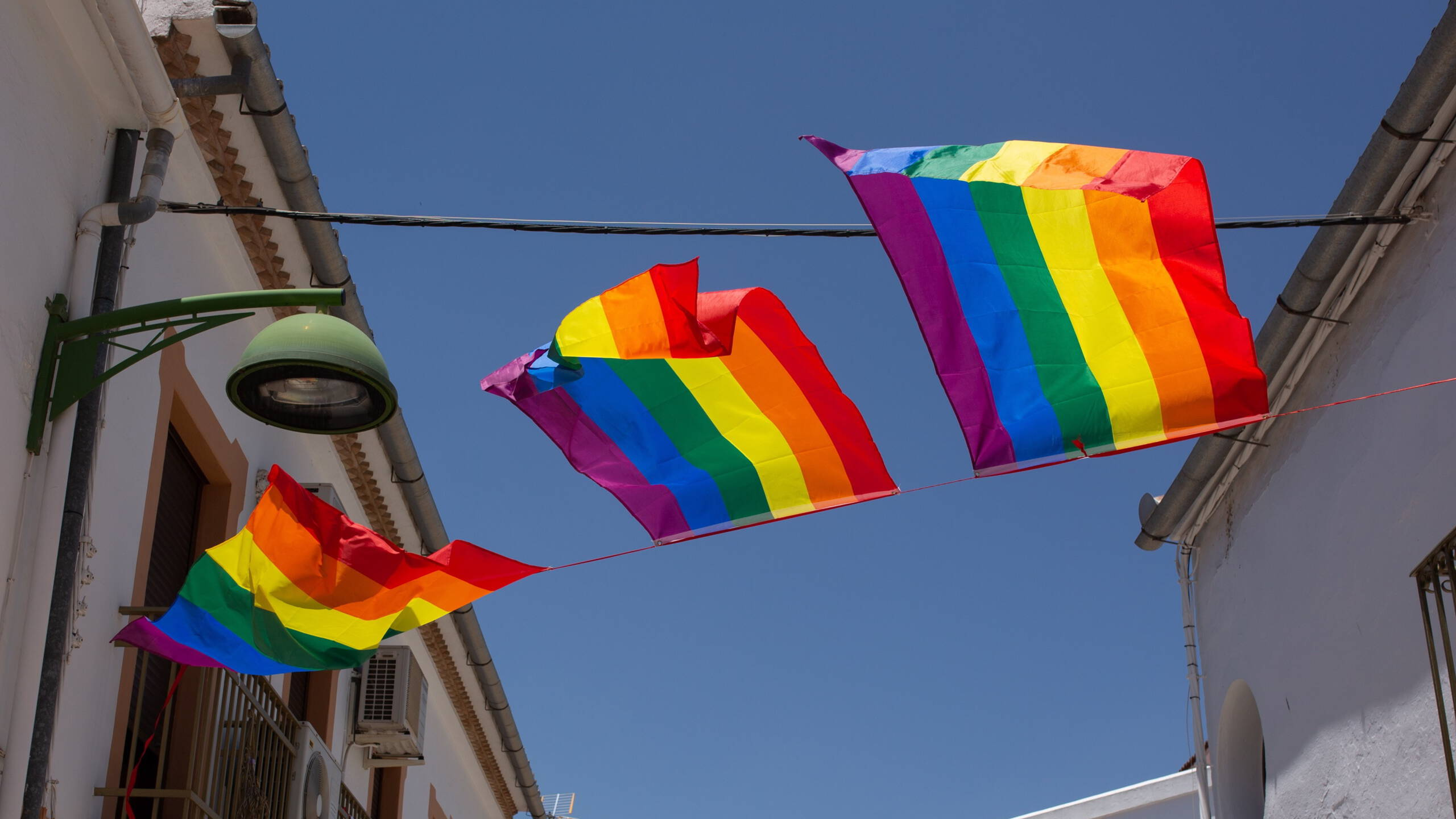More rainbow flags in Villanueva de Algaidas