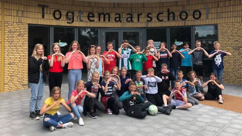 Kinderen in Groningen superblij dat Arjen Robben terugkomt