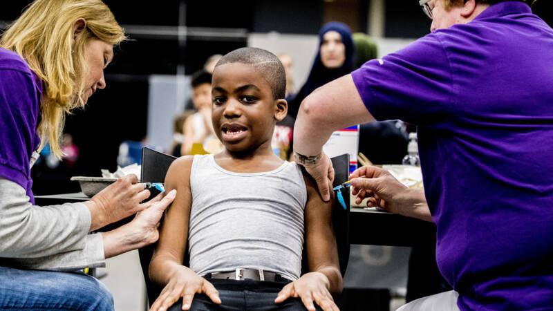 Steeds meer kinderen halen vaccinaties