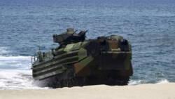 Amerikaanse militairen vermoedelijk omgekomen na ongeluk op zee.