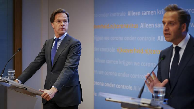 Terugkijken: Persconferentie Van Premier Rutte En Minister