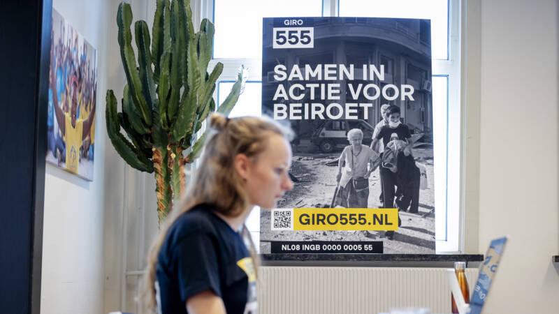 Actie voor Beiroet haalt 11,5 miljoen op