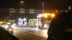 Helpende automobilist komt om bij ongeluk op A13.