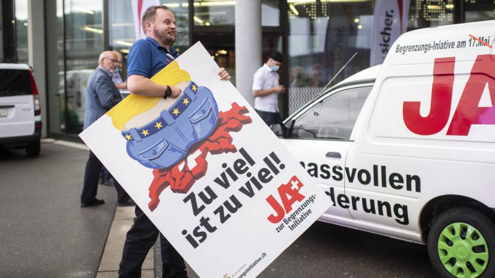 Bekijk details van Zwitsers anti-EU-migratievoorstel sneuvelt in referendum