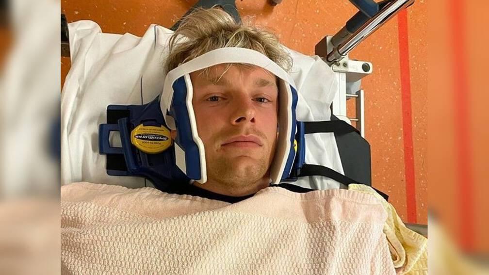 Enzo Knol in ziekenhuis na ongeluk in zwembad.