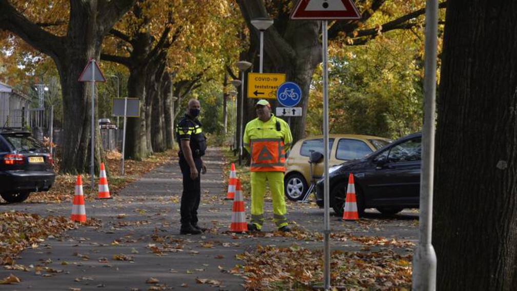 Bekijk details van Teststraat Breda beklad, medewerkers uitgescholden