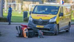 Man overleden na aanrijding met pakketbezorger in Elst.