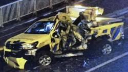 Weginspecteur gewond bij aanrijding op A2 bij Zaltbommel.