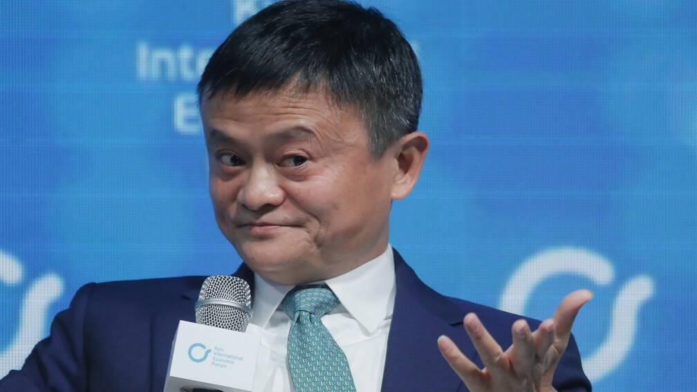 Chinese webwinkelmagnaat Jack Ma opgedoken in video