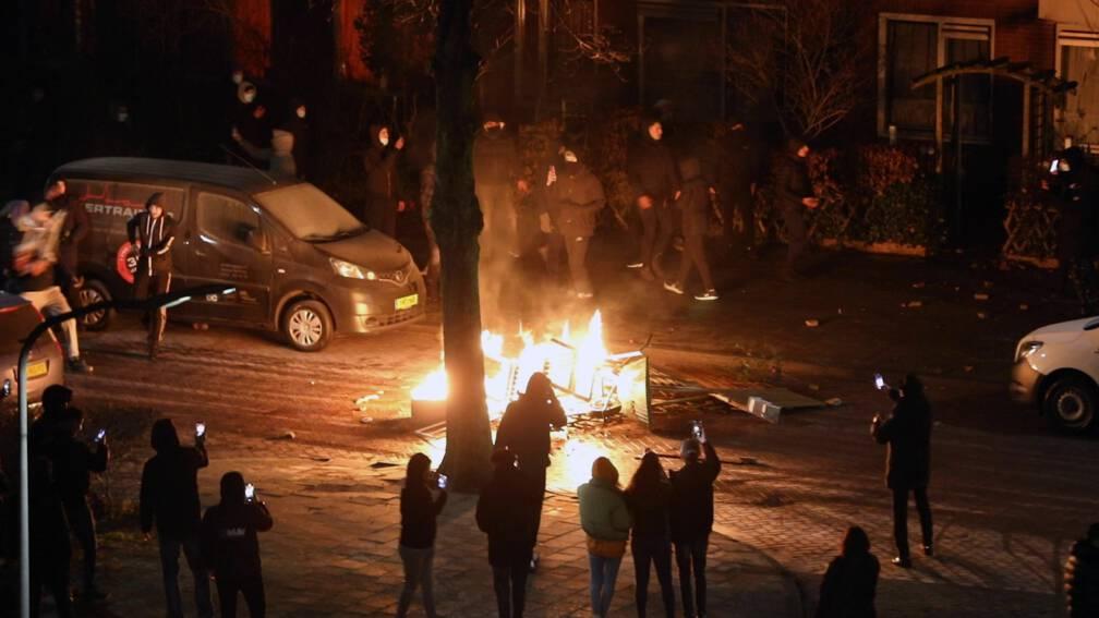 In deze steden zijn relschoppers actief en treedt de politie op
