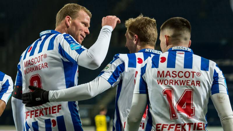 Heerenveen-spits Veerman bezorgt Vitesse nieuw puntenverlies - NOS