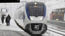 Sneeuwballen, pekeltrams en ongelukken: Nederland in de sneeuw.
