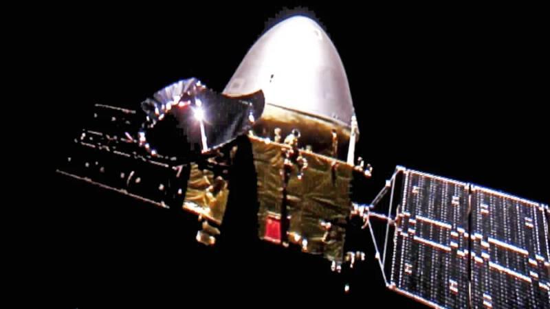 Chinese ruimtesonde aangekomen bij Mars - NOS
