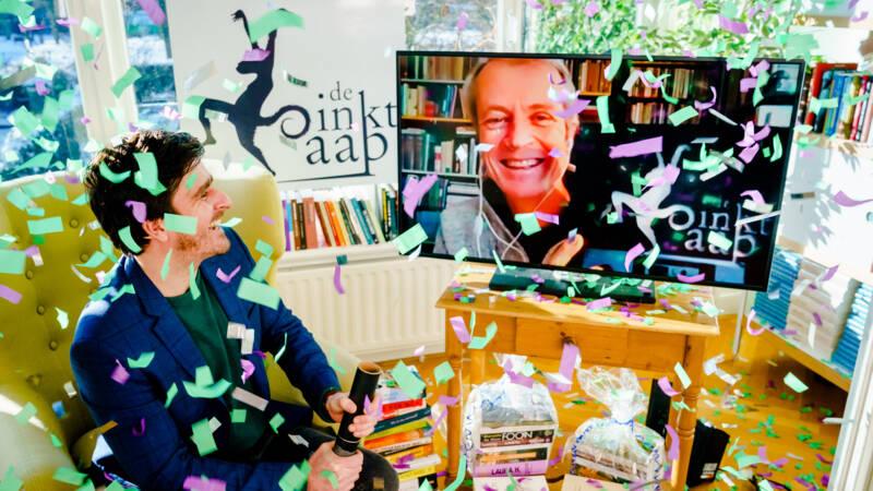 Sander Kollaard krijgt na Libris-prijs ook literaire jongerenprijs De Inktaap - NOS
