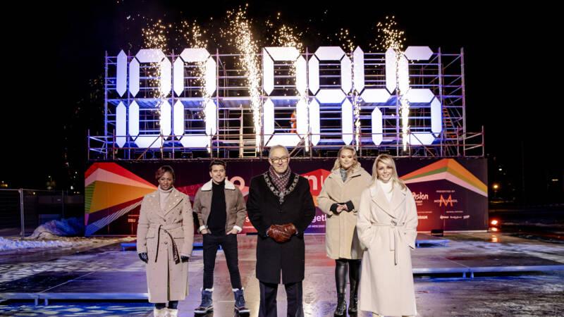 100 dagen tot Songfestival: 'Aan alles is afgelopen tijd wel gesleuteld' - NOS