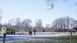 Piloot sportvliegtuigje verongelukt bij Kornhorn in Groningen.