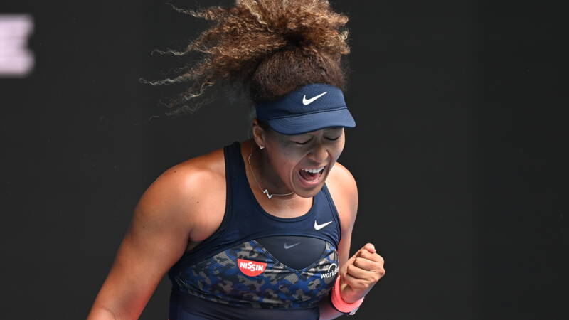 Osaka door het oog van de naald, Williams voor twaalfde keer kwartfinaliste - NOS
