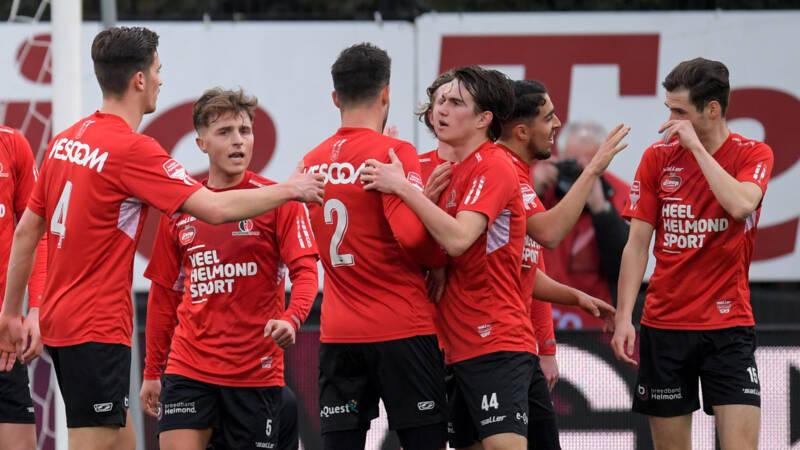 Almere City struikelt over Helmond Sport en lijdt duur puntenverlies - NOS