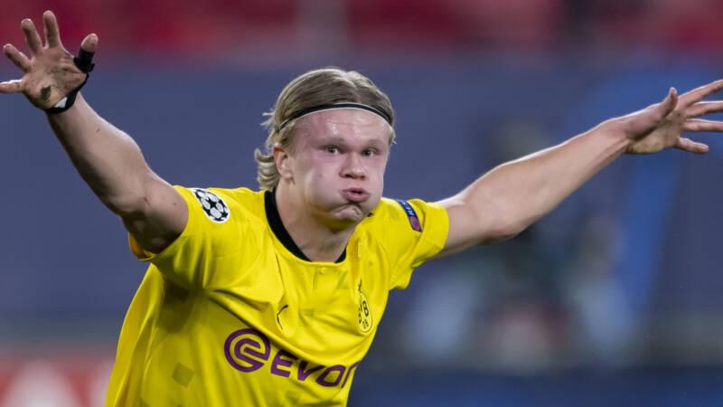 Sevilla op eigen veld onderuit tegen Dortmund, ondanks treffer De Jong - NOS