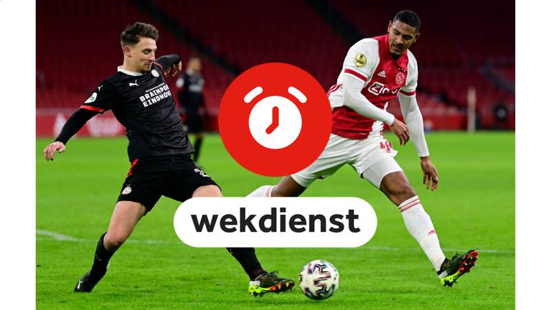 Wekdienst 28/2: Lijsttrekkers in debat • Kraker in eredivisie: PSV-Ajax - NOS