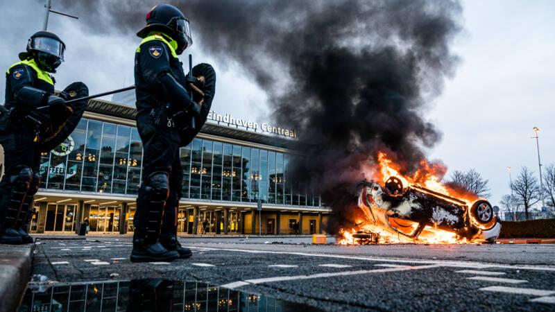 Verdachten avondklokrellen Eindhoven herkenbaar in beeld gebracht - NOS