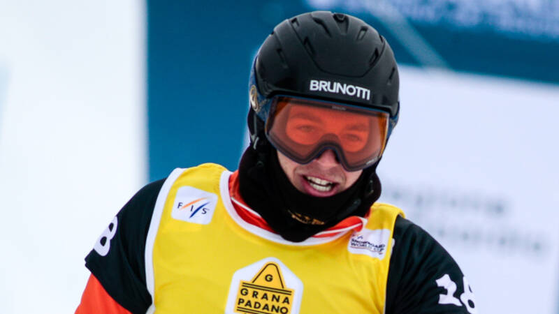 Zesde plaats voor snowboarder De Blois bij vierde wereldbekercross - NOS