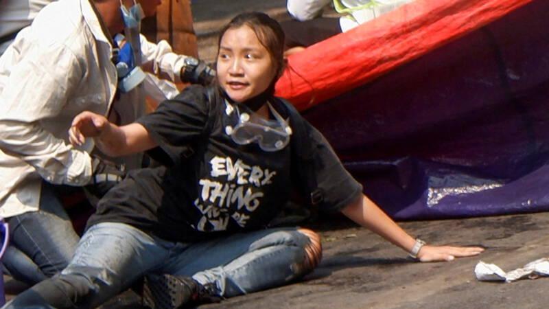 Doodgeschoten 19-jarige Angel is 'held van Myanmar' - NOS