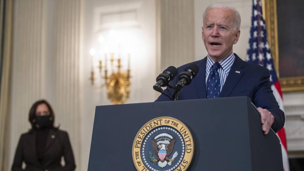 Bekijk details van Amerikaanse Senaat stemt in met coronasteunpakket van Biden