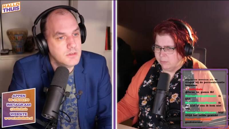 Gea en Sebastiaan maken 'alternatieve persconferentie' voor verstandelijk beperkten - NOS