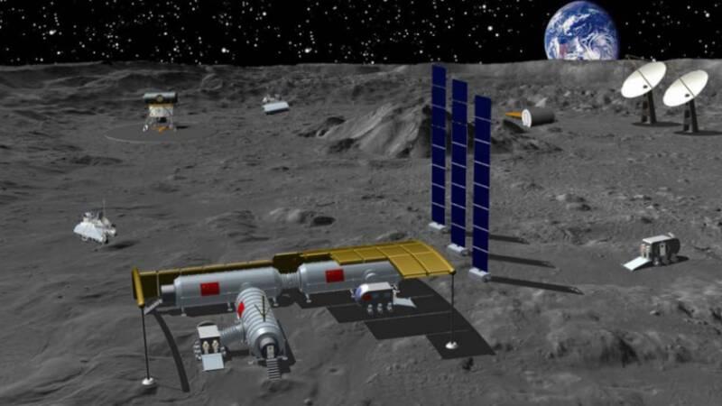China en Rusland willen maanbasis: het begin van een nieuwe ruimterace? - NOS