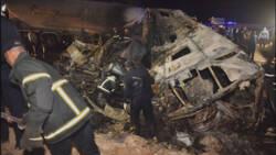 Twintig doden bij busongeluk Egypte.