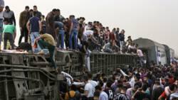 11 doden en bijna 100 gewonden door treinongeluk in Egypte.