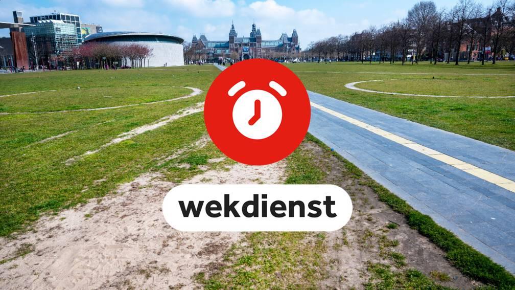 Wekdienst 20/4: Oordeel over Janssen-vaccin • Nieuw gras Museumplein
