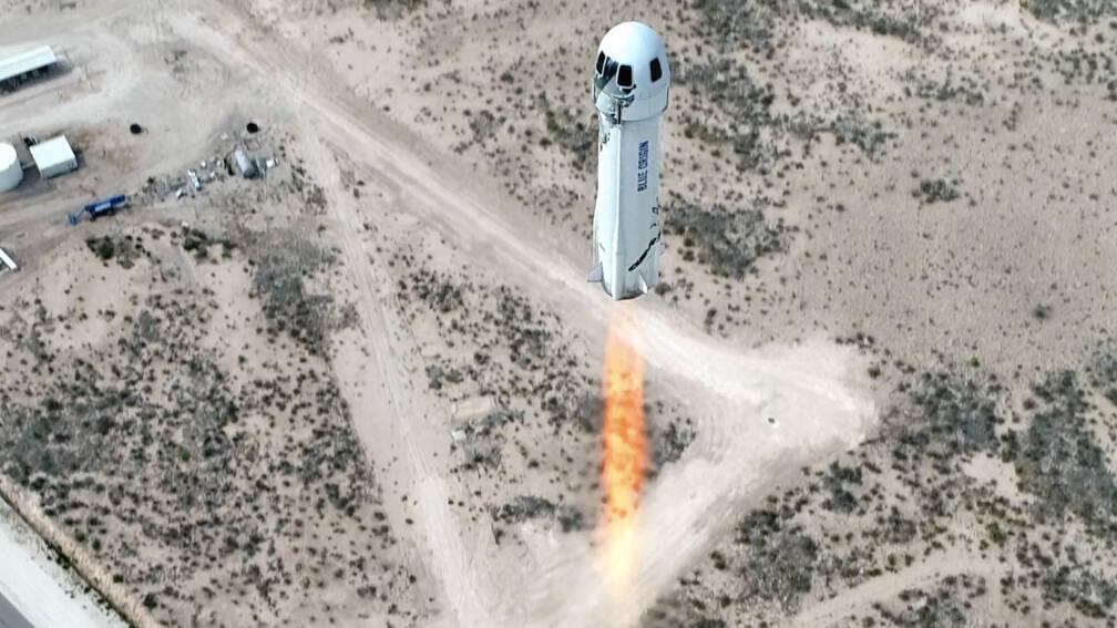 Bekijk details van Ruimtevaartbedrijf Blue Origin wil in juli toeristen de ruimte in brengen