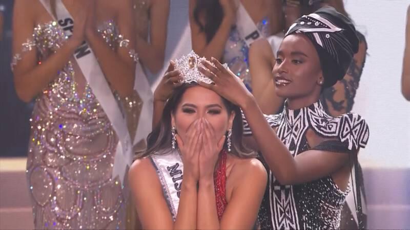 Andrea uit Mexico gekozen tot Miss Universe